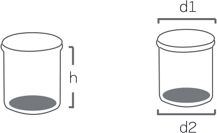 Round – shaped packaging pails